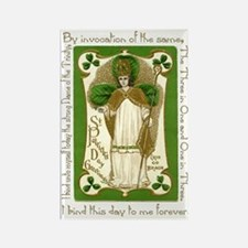 St. Patrick's Breastplate Rectangle Magnet