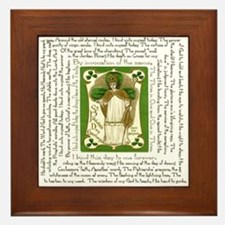 St. Patrick's Breastplate Framed Tile
