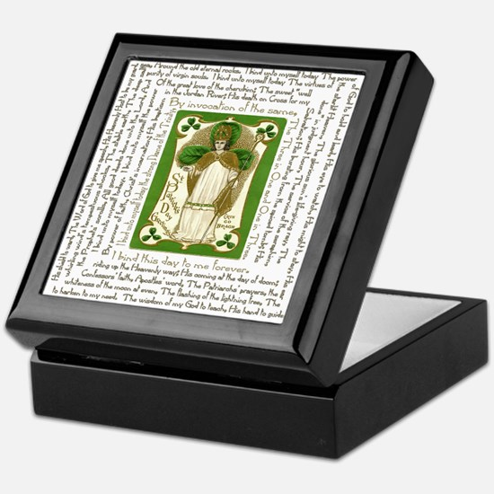 St. Patrick's Breastplate Rosary Box