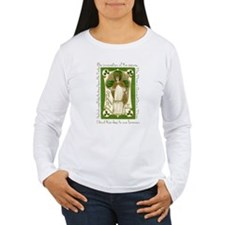 St. Patrick's Breastplate Ladies Long Sleeve Shirt
