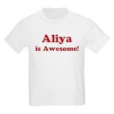 Aliya is Awesome Kids T-Shirt
