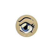 Manga Eye Mini Button