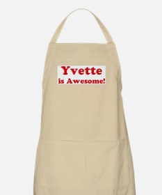 Yvette is Awesome BBQ Apron