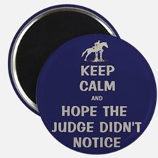 Funny Keep Calm Horse Show Magnet