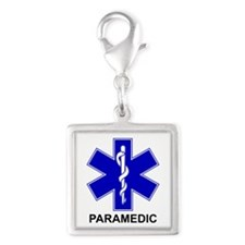 Blue Star of Life - PARAMEDIC.png Silver Square Ch