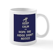 Funny Keep Calm Horse Show Mug