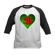 Green Money Heart Tee