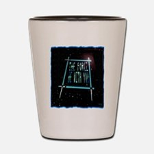 the force be with you Shot Glass