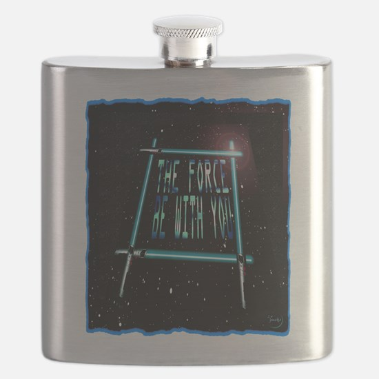 the force be with you Flask