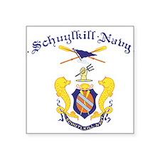 Crest of Schuylkill Navy Sticker