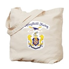 Crest of Schuylkill Navy Tote Bag