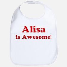 Alisa is Awesome Bib