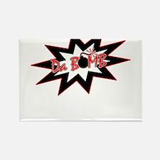 Bomb Rectangle Magnet