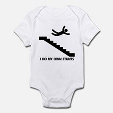 Strairs, I Do All My Own Stunts Infant Bodysuit