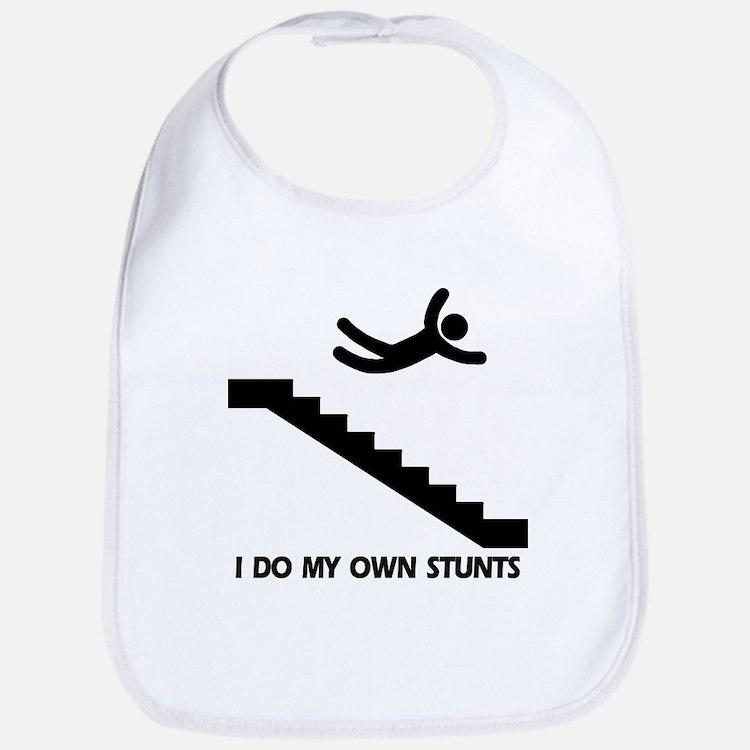 Strairs, I Do All My Own Stunts Bib