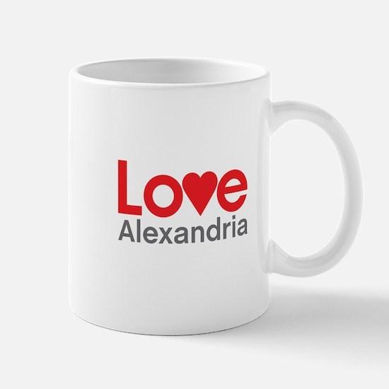 I Love Alexandria Mug
