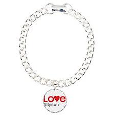 I Love Allyson Bracelet