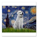 Starry-AnatolianShep1 Square Car Magnet 3
