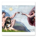 CREATION-Aussie-Tri-Lucy.png Square Car Magnet 3