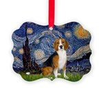 5.5x7.5-Starry-Beagle7.png Picture Ornament