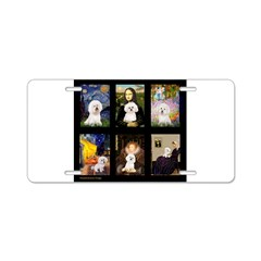 Bichon Masterpieces (A) Aluminum License Plate