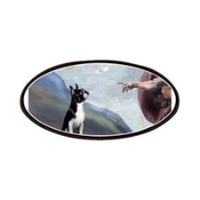 Boston Terrier 3 - Creation of Man Patches