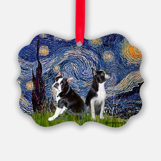 Starry Night & Bos Ter Ornament