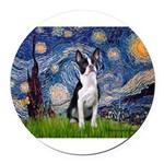 STARRY-Boston2.png Round Car Magnet