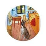 3-MP-ROOM-Vert-Boxer5-Brindle.png Ornament (Round)