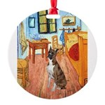 3-MP-ROOM-Vert-Boxer5-Brindle.png Round Ornament