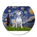 STARRY-BullyPer.png Round Car Magnet