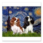 MP-STARRY-CavPAIR2and5.png Square Car Magnet 3