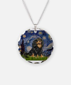 PILLOW-StarryCav-Blk-Tan.png Necklace