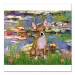 5x7-Lilies2-CHIH2.png Square Car Magnet 3