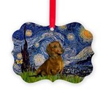 MP-Starry-Dachs-Brwn1.png Picture Ornament