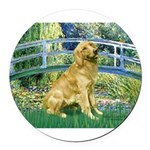 MP-BRIDGE-Golden-Banjo-Light.png Round Car Magnet