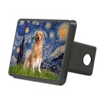 5.5x7.5-Starry-Golden8.png Rectangular Hitch Cover