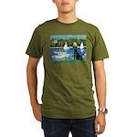 TILE-Sailbts-LAB1.png Organic Men's T-Shirt (dark)