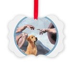 Creation/Labrador (Y) Picture Ornament