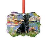 LILIES2-labblk1.png Picture Ornament