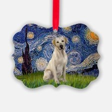 StarryNight-YellowLab7.png Ornament