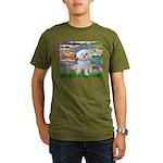 3-MP-LILIES2-MalteseRocky.png Organic Men's T-Shir