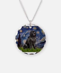 STARRY-Newfie-Blk2.png Necklace