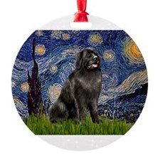 STARRY-Newfie-Blk2.png Ornament