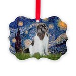 STARRY-Newfie-Landseer4.png Picture Ornament