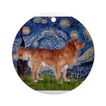 5.5x7.5-Starry-NovaScotia3-stand1.png Ornament (Ro