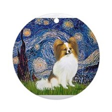 MP-STARRY-Papi-fawn.png Ornament (Round)