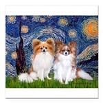 STARRY-PapiPAIR-both.png Square Car Magnet 3