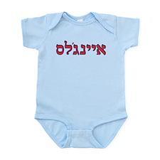 Hebrew Baseball Logo - Los Angeles Anaheim 2 Body