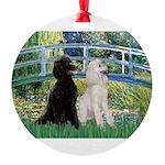 card-Bridge-PoodlePR-ST.PNG Round Ornament